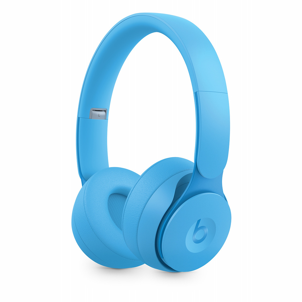 Solo Pro Wireless Noise Cancelling 헤드폰 - 연청색 (MRJ92ZP/A)
