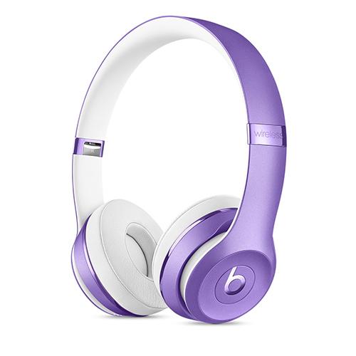 Beats Solo3 Wireless 온 이어 헤드폰 - 울트라 바이올렛 (MP132PA/A)