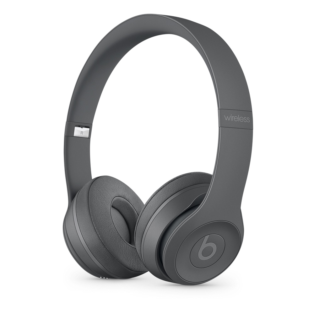 Beats Solo3 Wireless 온 이어 헤드폰 - Neighborhood Collection - 아스팔트 그레이