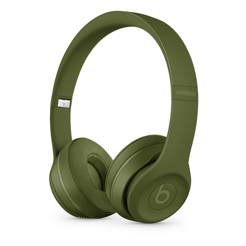 Beats Solo3 Wireless 온 이어 헤드폰 - Neighborhood Collection - 아미 그린