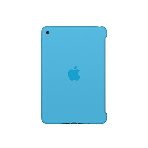 iPad mini 4 실리콘 케이스 - 블루 (MLD32FE/A)