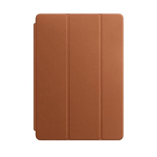 10.5형 iPad Pro용 가죽 Smart Cover - 새들 브라운 (MPU92FE/A)