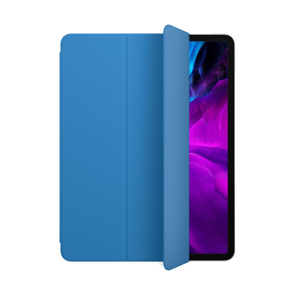 12.9형 iPadPro(4세대)용 Smart Folio - 서브 블루 (MXTD2FE/A)