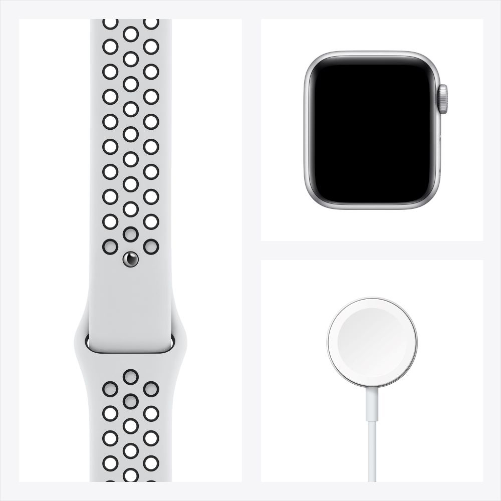 Apple Watch SE Cellular 40mm 골드 알루미늄 케이스, 그리고 핑크샌드 스포츠 밴드 (MYEH2KH/A)