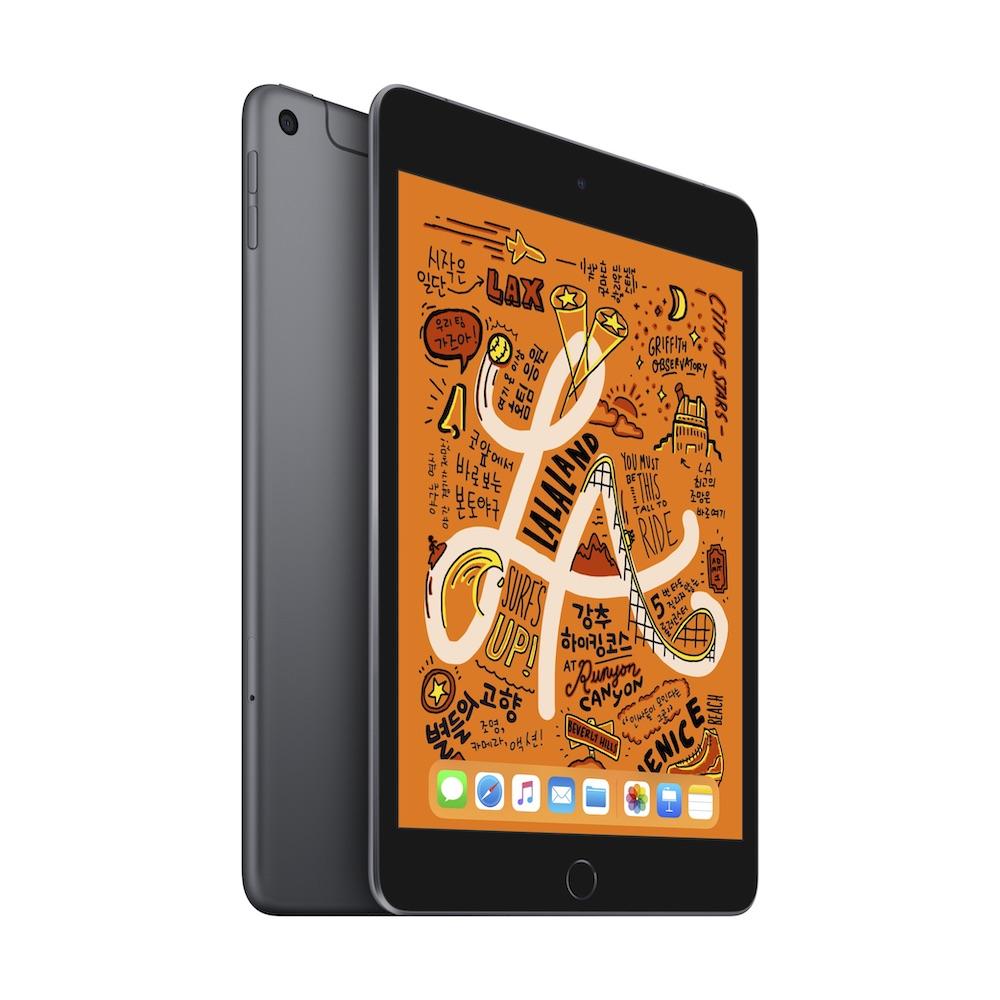 iPad mini 2019년형 Wi-Fi+Cellular 64GB 스페이스 그레이 (MUX52KH/A)