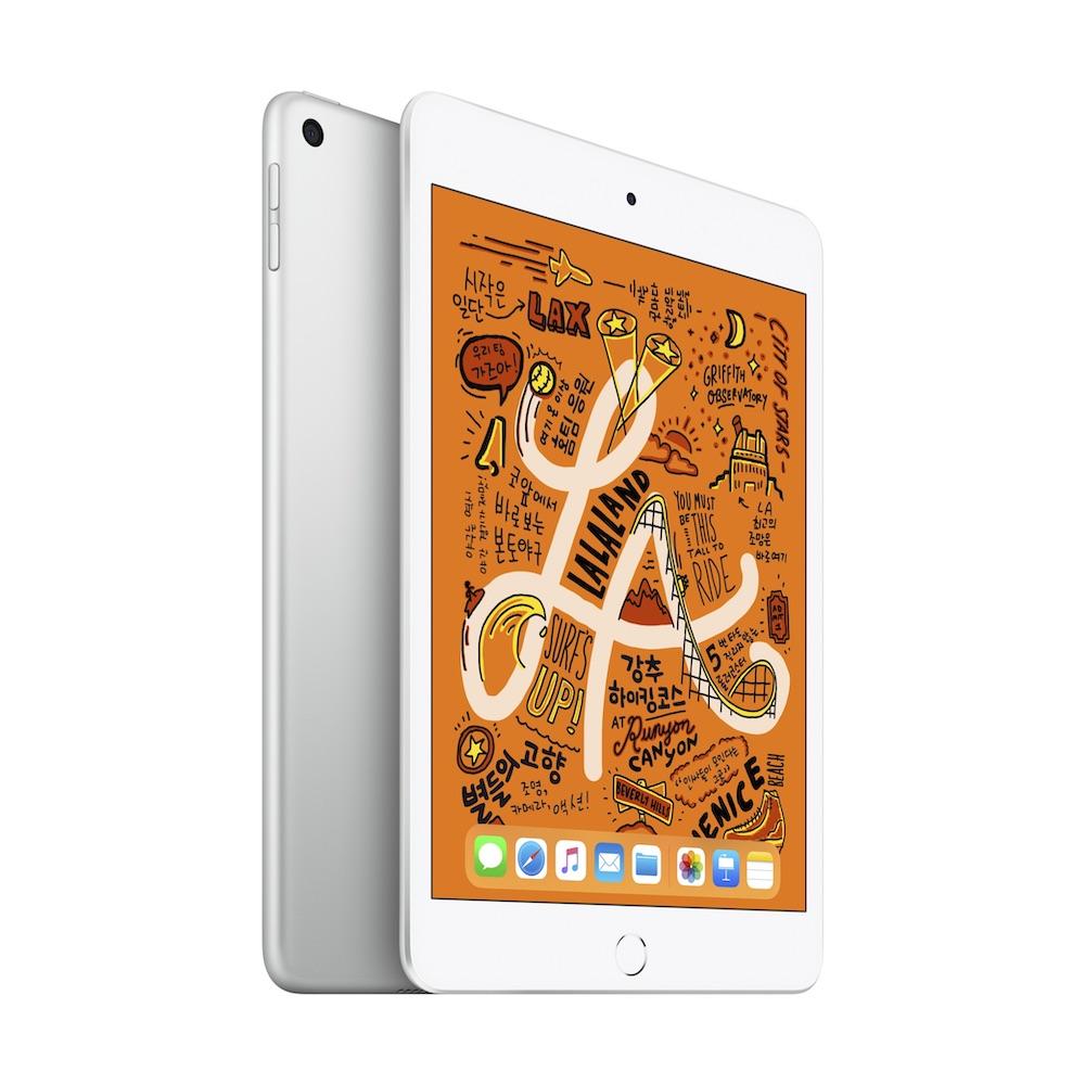 iPad mini 2019년형 Wi-Fi 64GB 실버 (MUQX2KH/A)