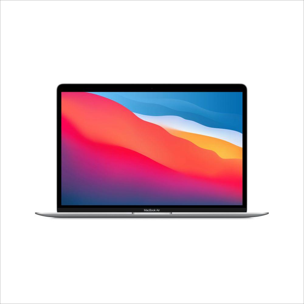 MacBook Air 2020년형 Apple M1 칩(8코어 CPU 및 7코어 GPU)/256GB/8GB/Touch ID (MGN93KH/A) - 실버