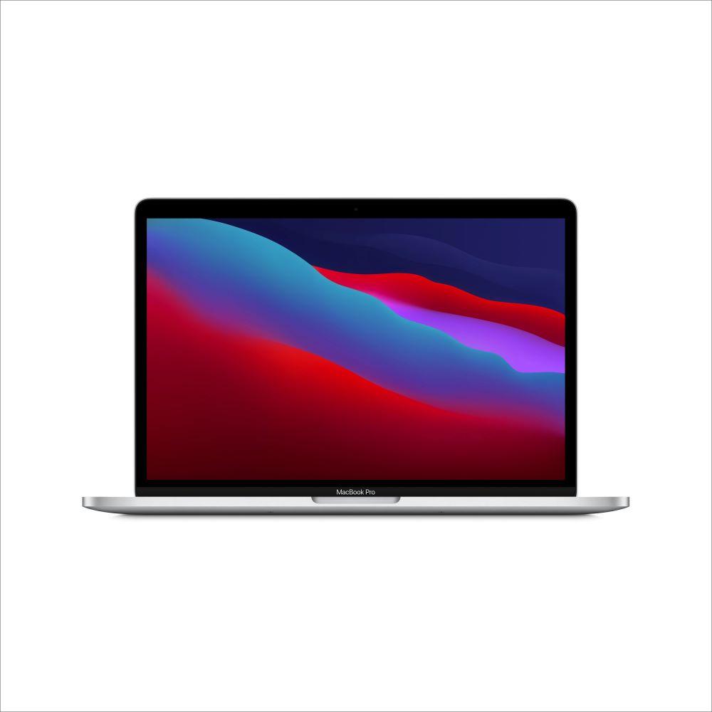 MacBook Pro 2020년형 13형 Apple M1 칩(8코어 CPU 및 8코어 GPU)/512GB/Touch Bar 및 Touch ID - 실버 (MYDC2KH/A)