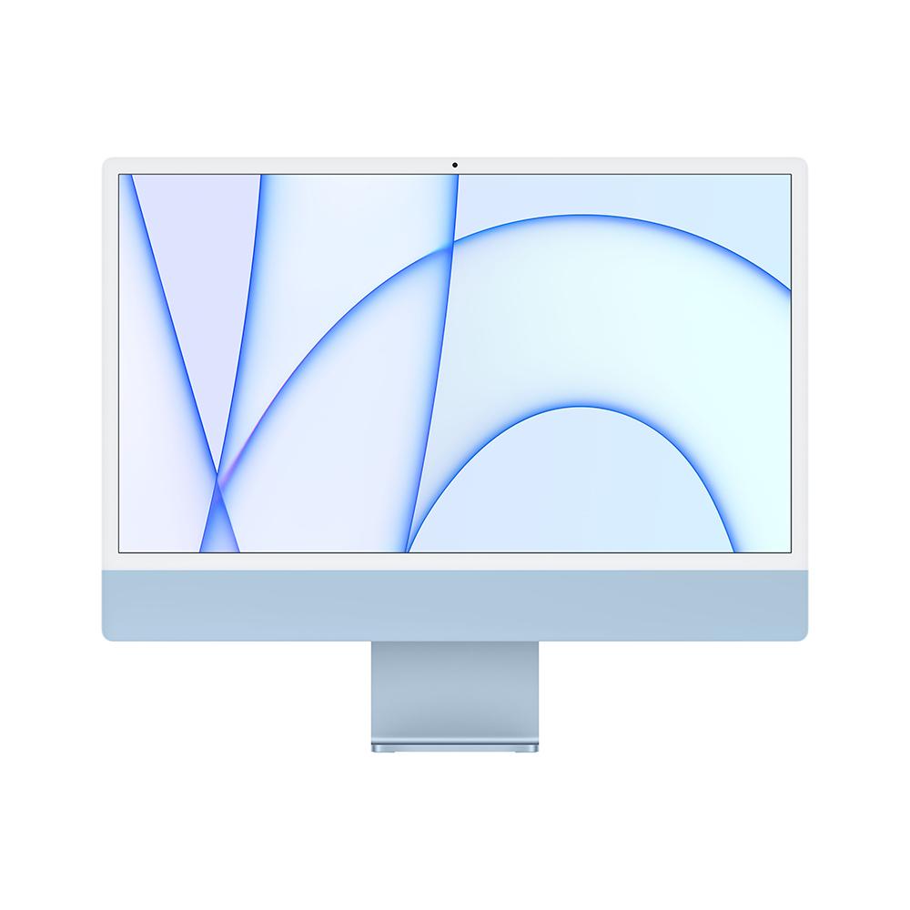 iMac 24형 Apple M1 칩(8코어 CPU 및 7코어 GPU)/256GB/Retina 4.5K 블루 (MJV93KH/A)