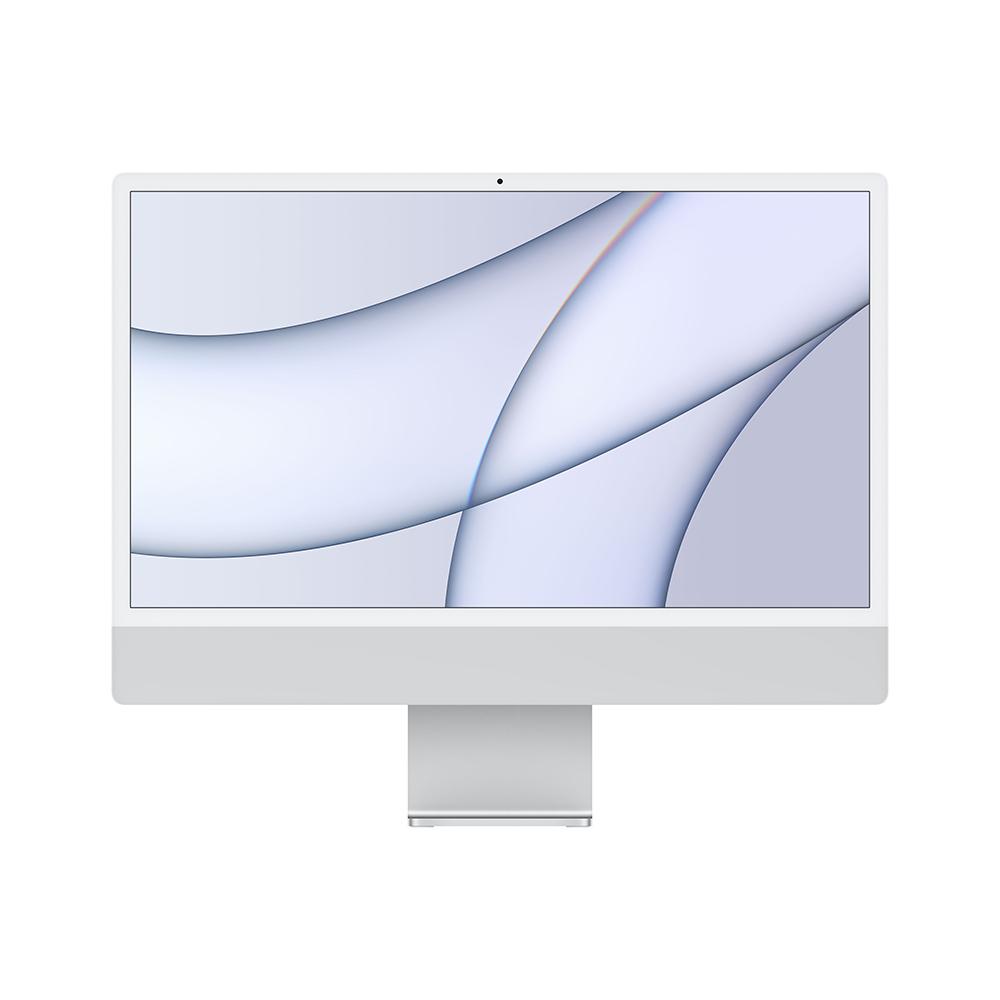 iMac 24형 Apple M1 칩(8코어 CPU 및 7코어 GPU)/256GB/Retina 4.5K 실버 (MGTF3KH/A)