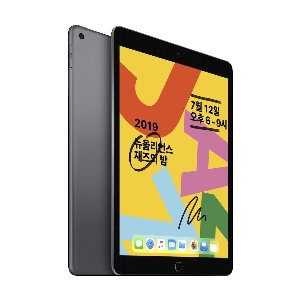 10.2형 iPad 2019년형 Wi-Fi 32GB 스페이스 그레이 (MW742KH/A)